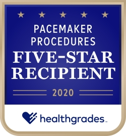 Pacemaker Procedures Five-Star Recipient 2020